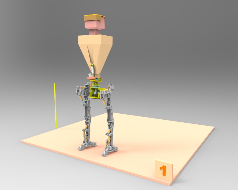 Little Robot Walking stance 1 v1.74