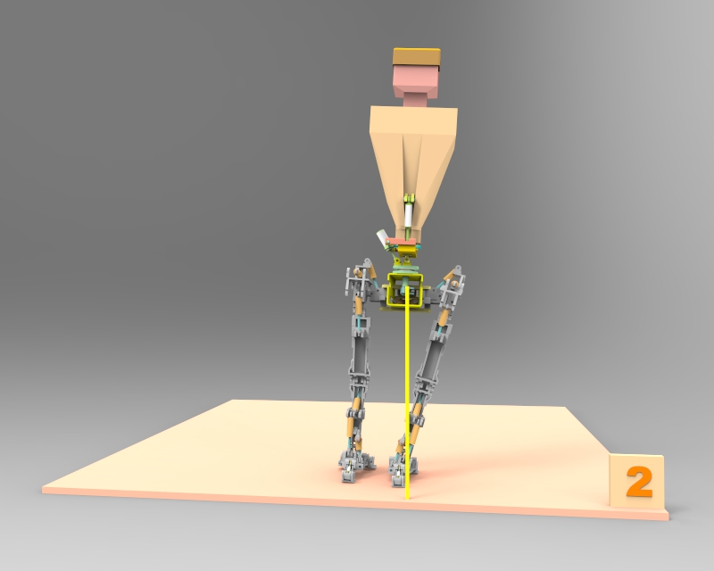 Little Robot Walking stance 2 v1.76
