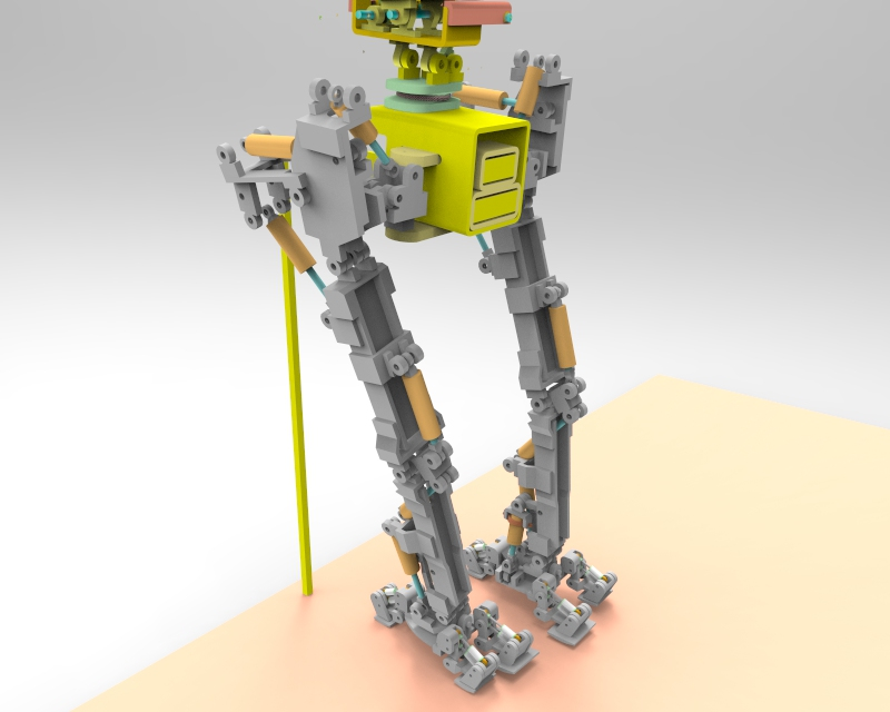 Little Robot Walking stance 2 v1.79