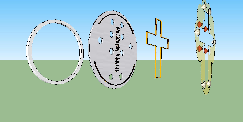 Final Turning Prayer platinum tungsten letters together v277